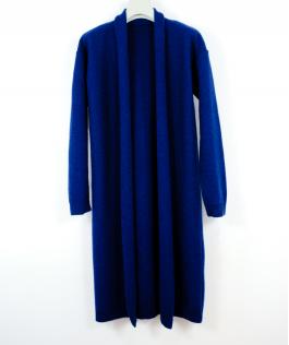 Cardigan albastru safir