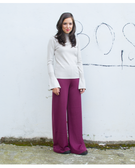 EXTRA LONG BURGUNDY PANTS