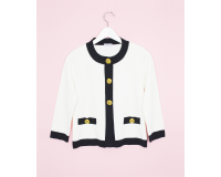 GOLDEN BUTTON ECRU JACKET